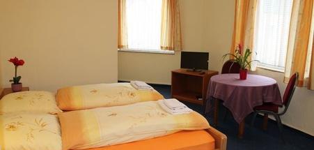 Zimmer im Hotel Hubbert